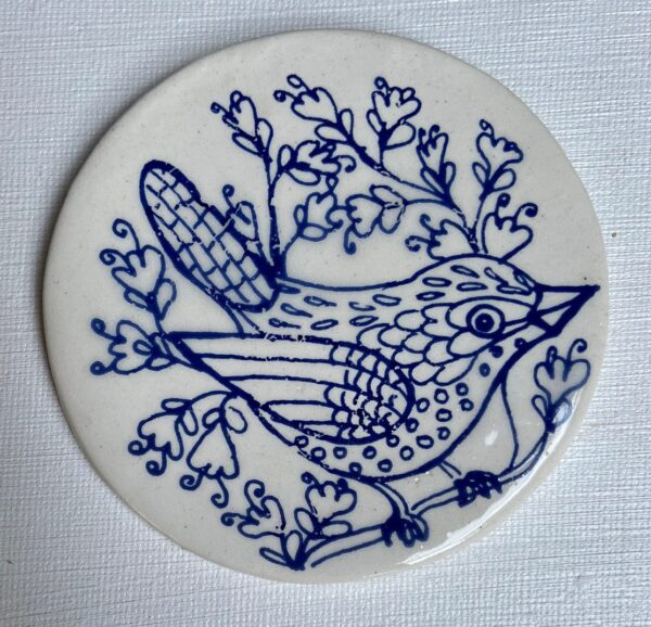 Blue Disc Bird