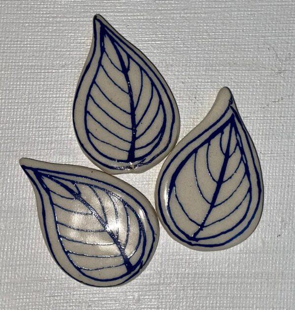 Blue Leaves x3