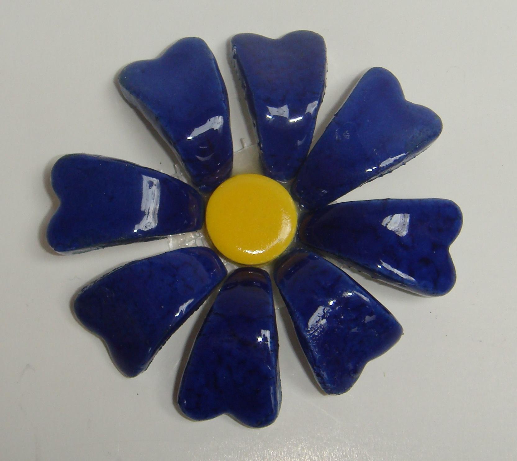 BLU-015 3D Flower Small Delft
