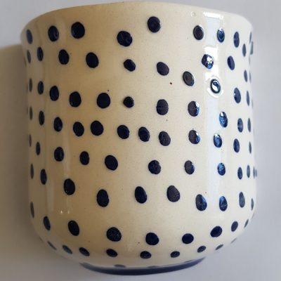 Half vase Spotted