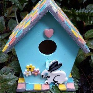 bunny bird house