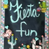Fiesta Fun Blackboard Kit