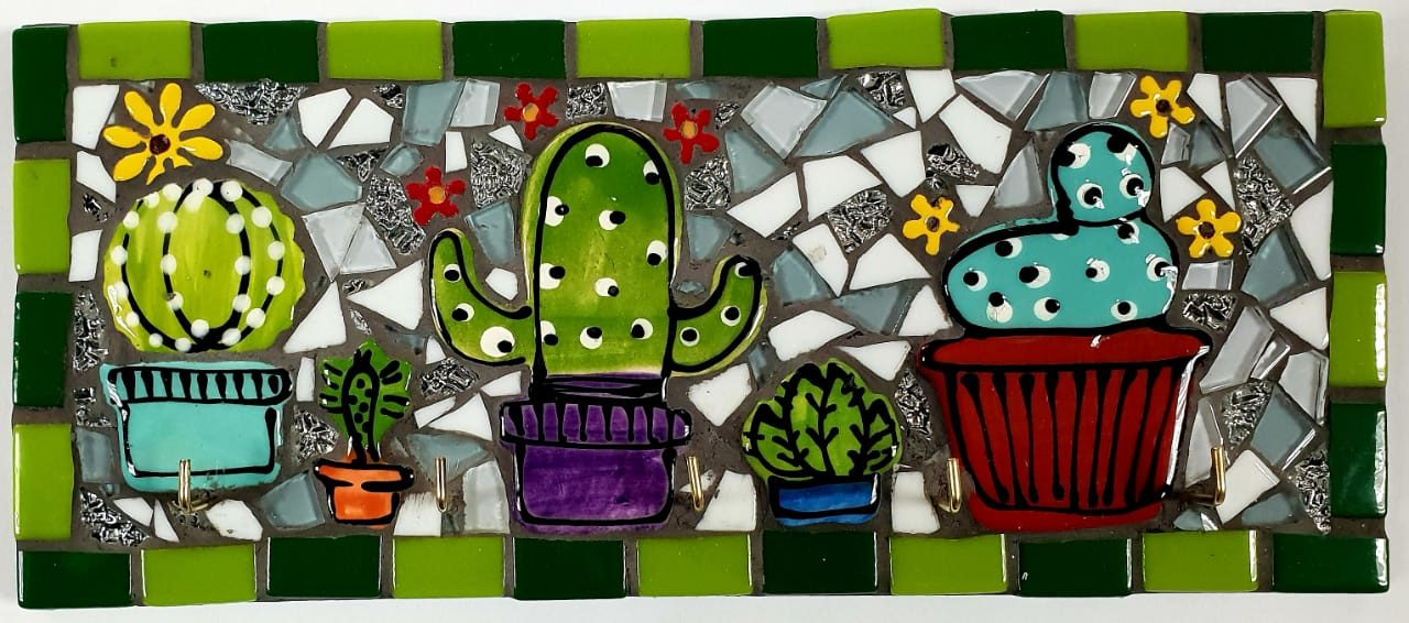 Cactus Key Holder Kit