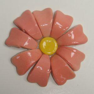 BLU-015 3D Flower Small Pink