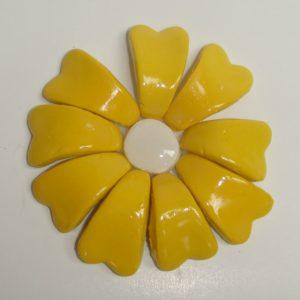 BLU-015 3D Flower Small Yellow