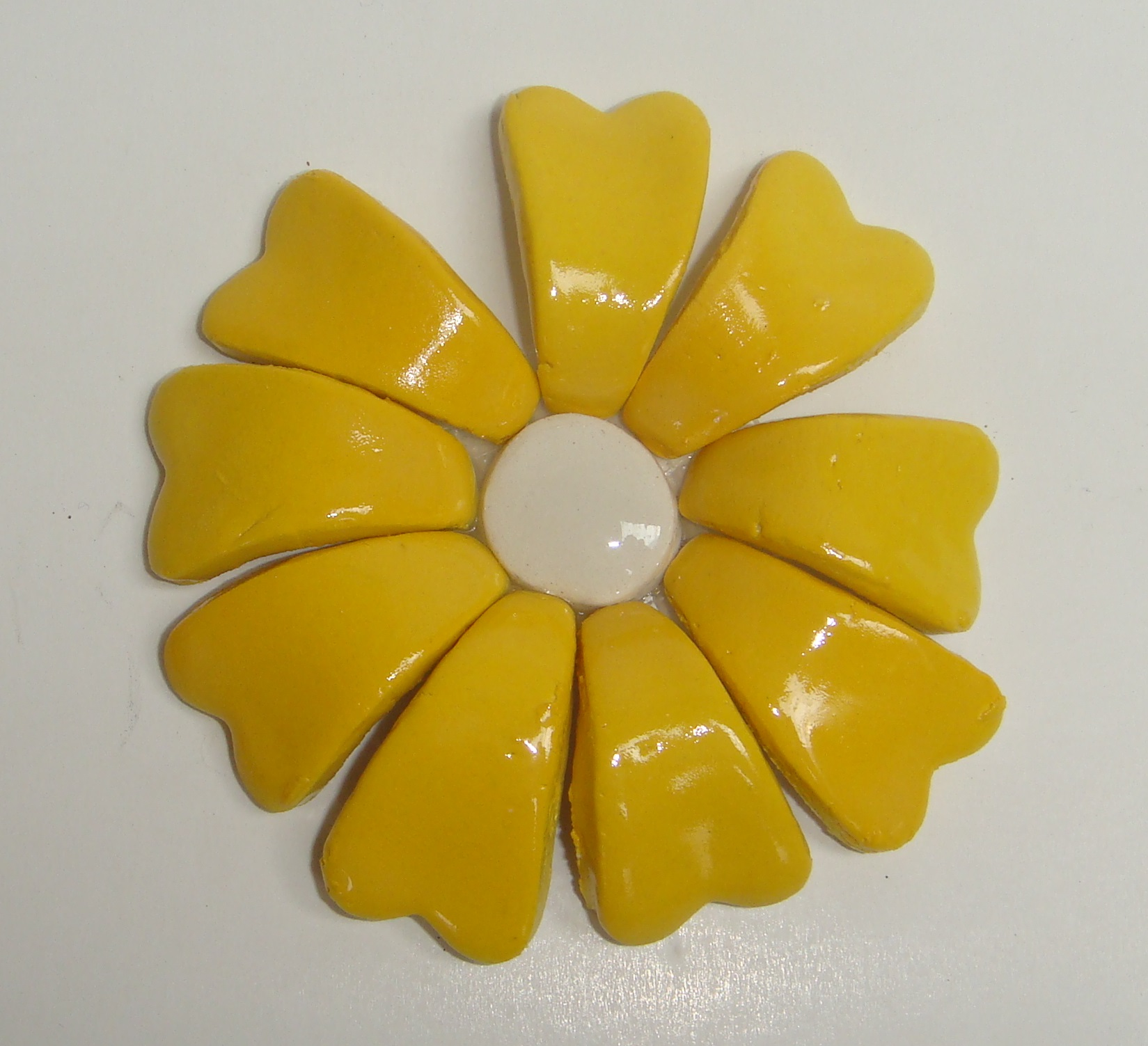 BLU-015 3D Flower Small Yellow