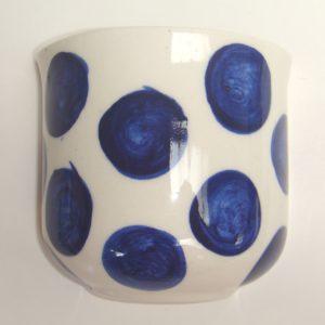 BLU-017 Half Vase Spotted