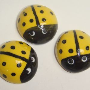 BUG-001 Ladybugs Large Yellow