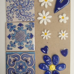 COM-001 Combo Card Medium Blue Delft