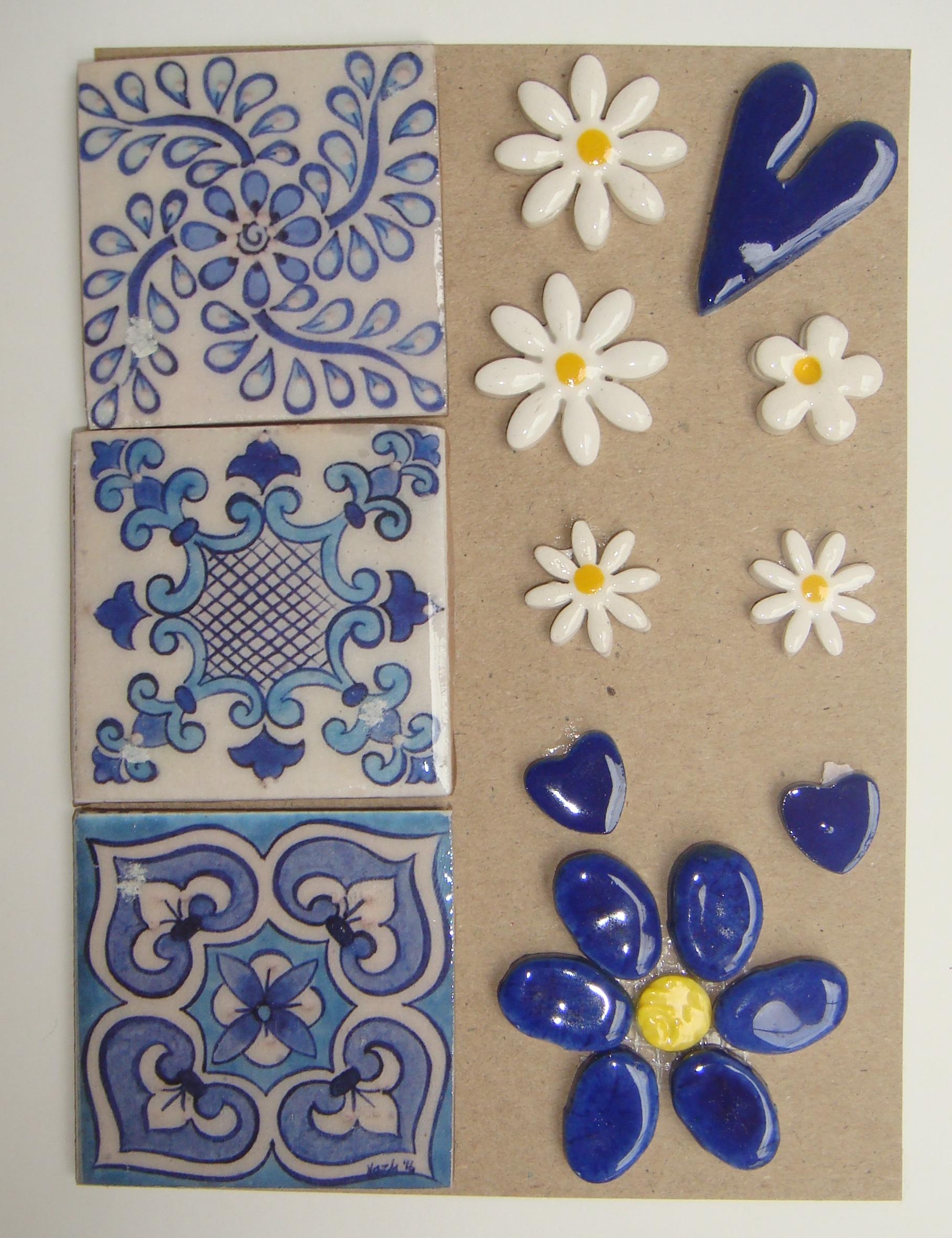 COM-001 Combo Card Medium Blue Delft