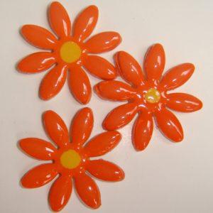 FLO-002 Daisy Large Orange