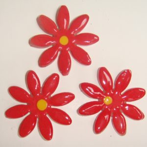 FLO-002 Daisy Large Red