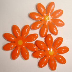 FLO-003 Daisy Medium Orange
