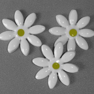 FLO-003 Daisy Medium White