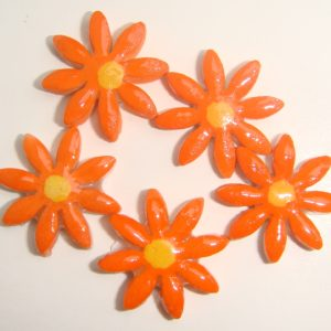 FLO-004 Daisy Small Orange