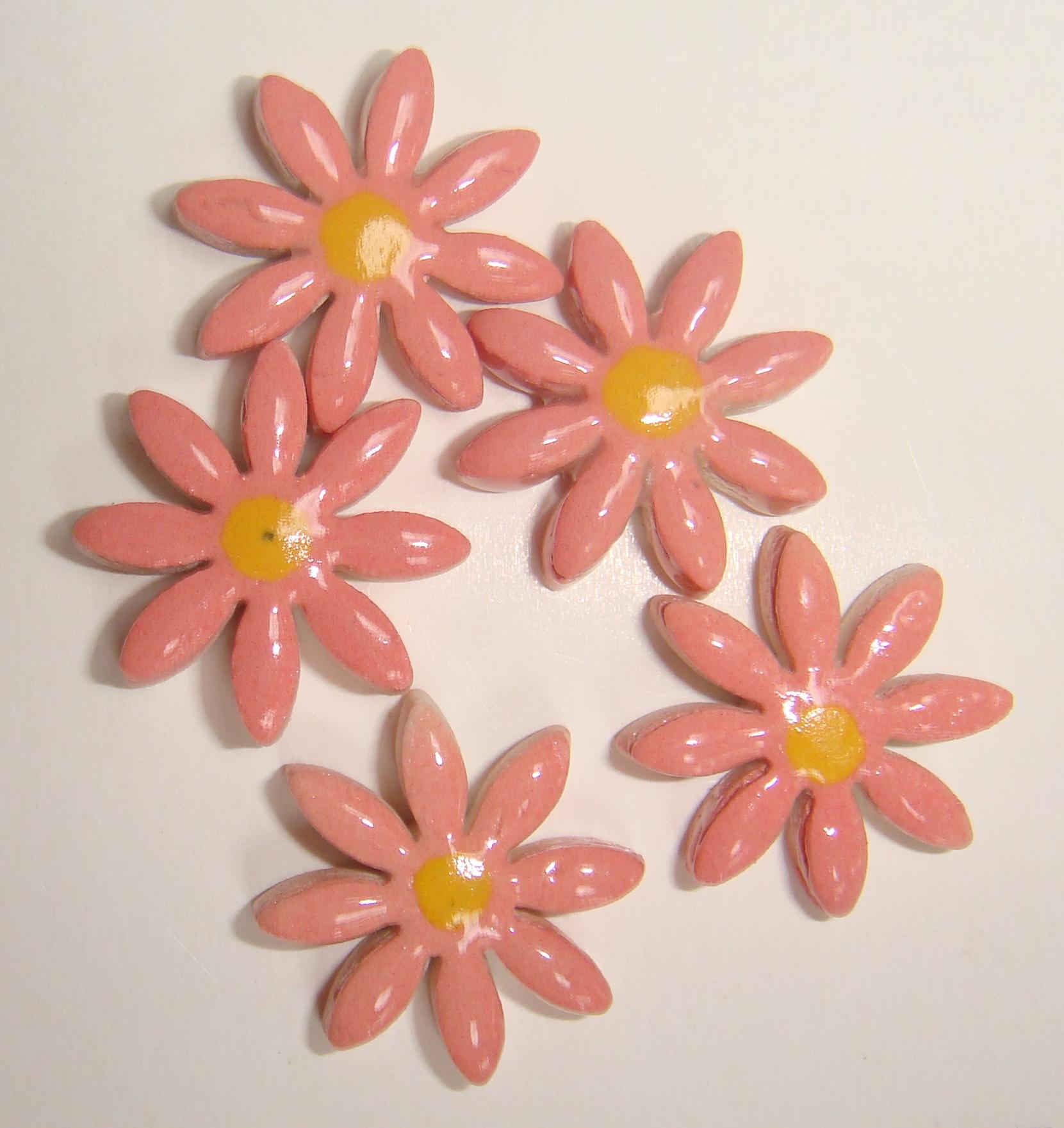 FLO-004 Daisy Small Pink