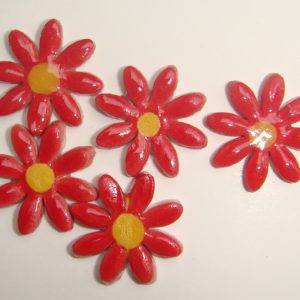 FLO-004 Daisy Small Red