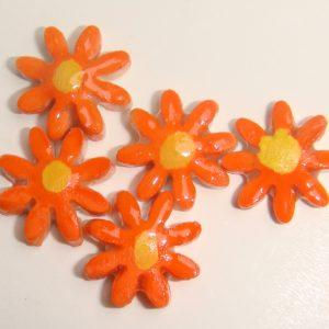 FLO-005 Daisy Super Small Orange