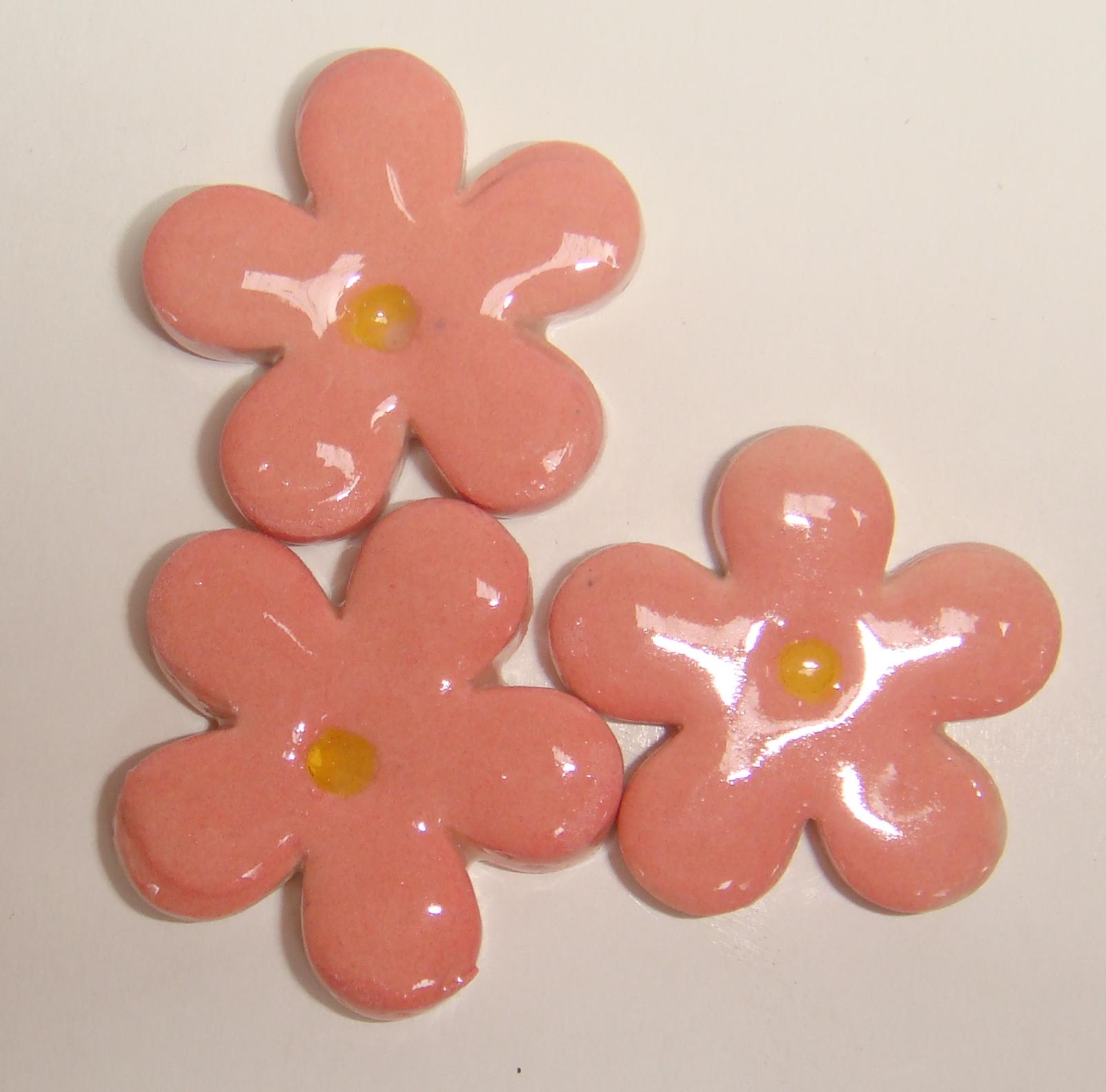 FLO-019 Happy Flower Medium Pink