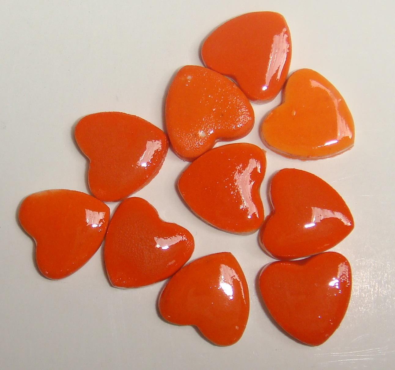 HEA-003 Tiny Hearts Orange