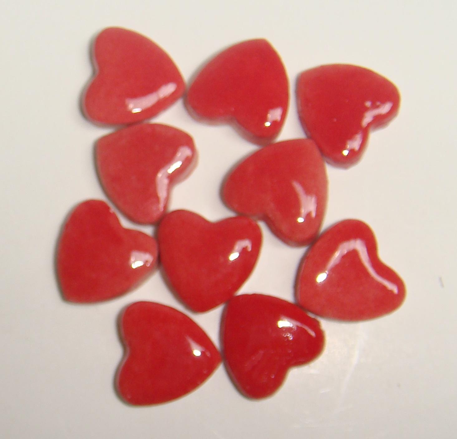 HEA-003 Tiny Hearts Red