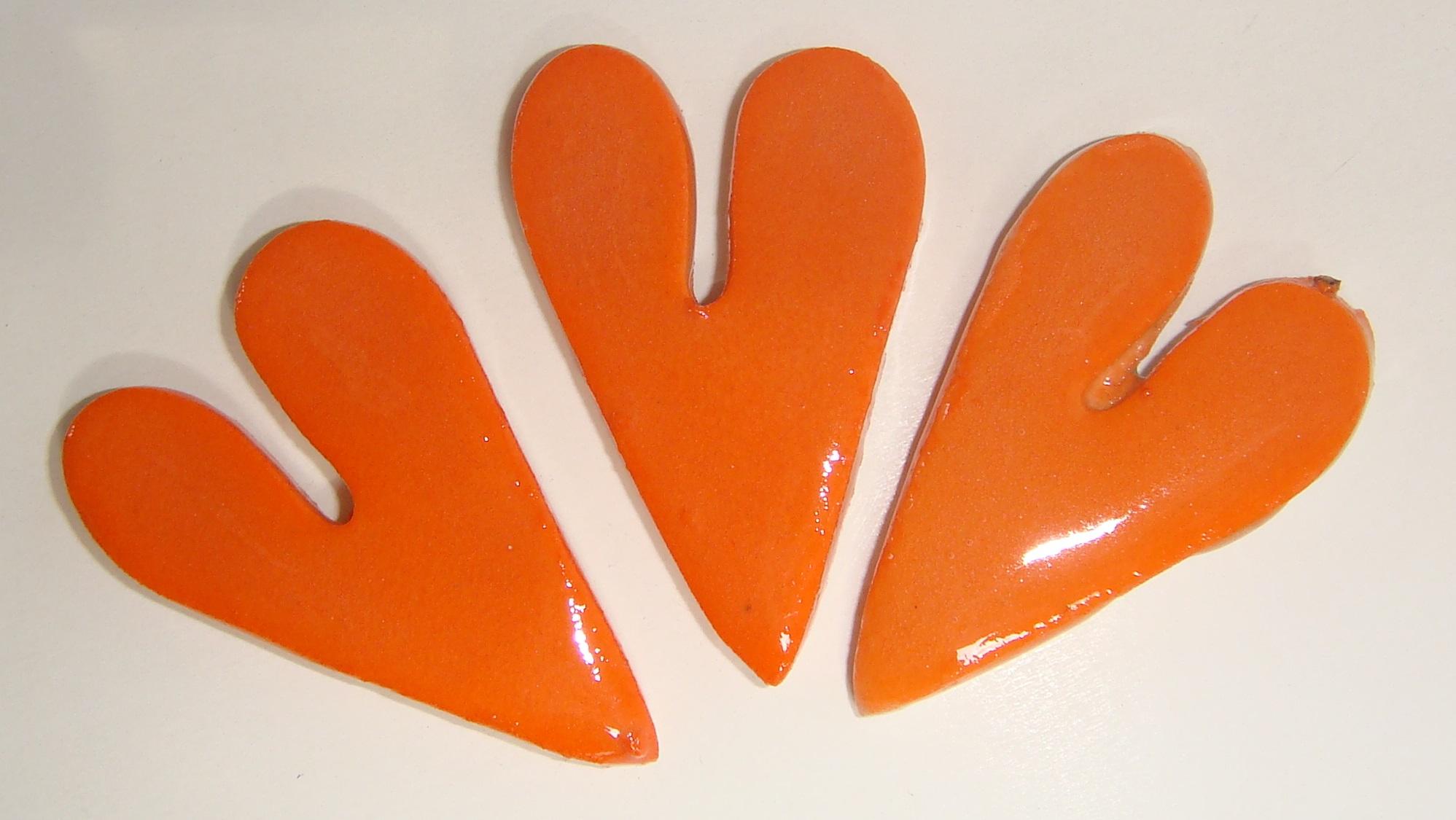 HEA-011 Long Hearts Orange