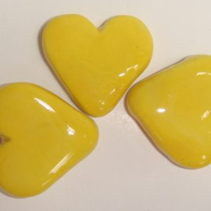 HEA-021 Fat Hearts Yellow