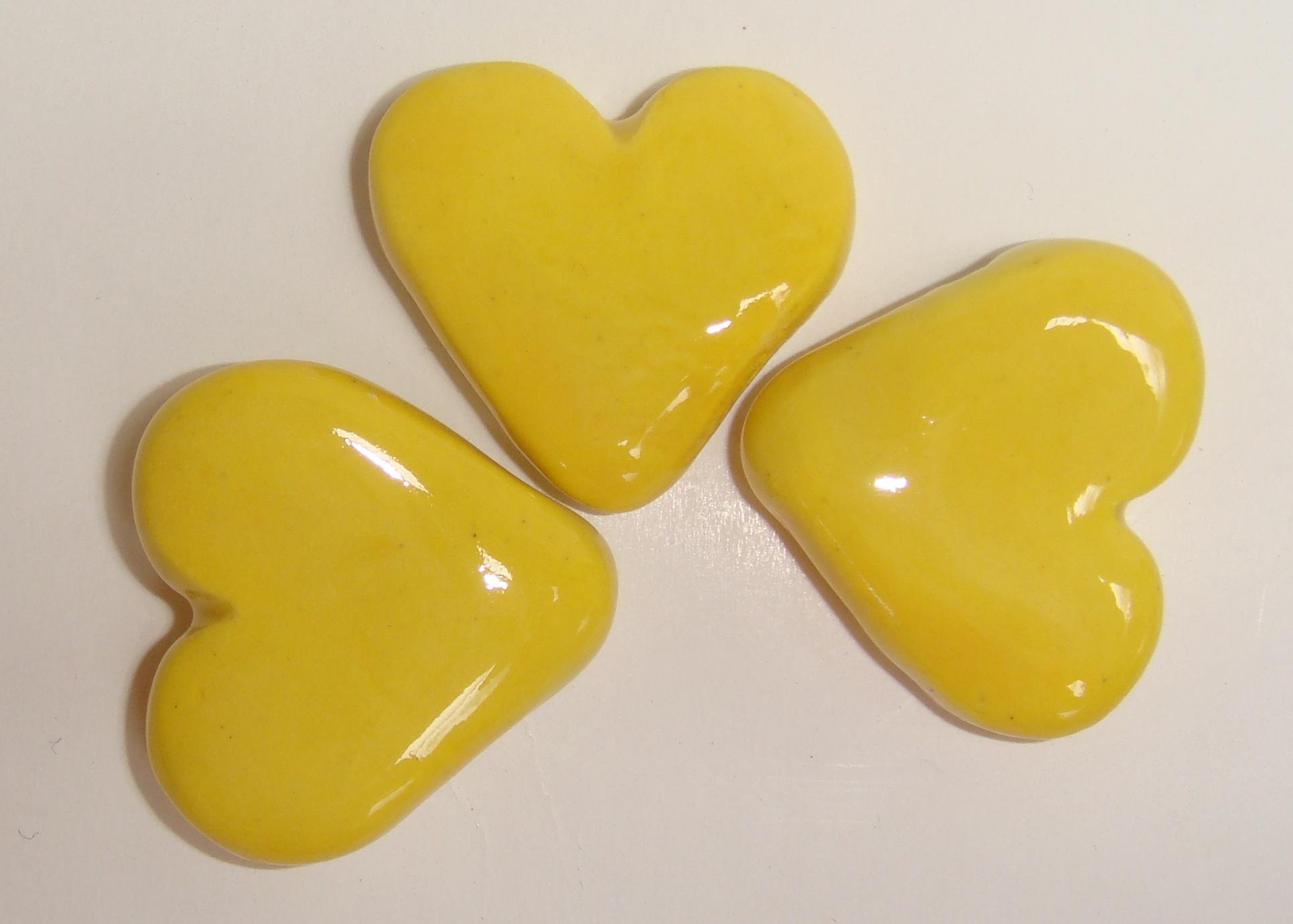 HEA-021 Fat Hearts Yellow