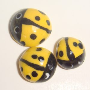MI01-004 Ladybugs Yellow