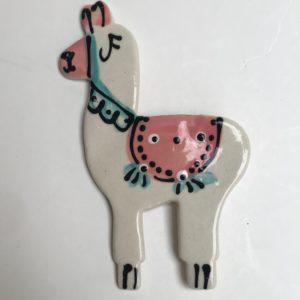 llama white