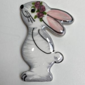 Bunny with Roses