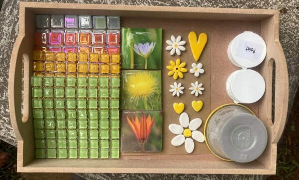 Tray Small Flowers