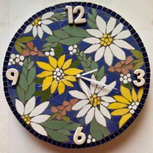 Meadow Mix Clock