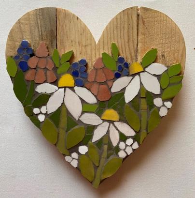 Meadow Mix Heart